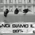 We Are 99% - Piazza del Duomo, Milan, Italy - October 30, 2011
