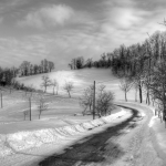 Winter Landscape - Carpineti, Reggio Emilia, Italy - February 5, 2012