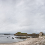 Coast - Ballintoy, County Antrim, Northern Ireland, UK - August 16, 2017