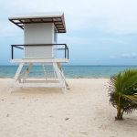 Lifeguard Tower - Playa del Carmen, Mexico - August 15, 2014