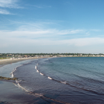 Shore - Newport, Rhode Island, USA - August 15, 2015