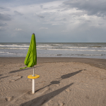 Beach Umbrella - Milano Marittima, Cervia, Ravenna, Italy - April 24, 2019