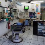 Barber Shop - Playa del Carmen, Mexico - August 17, 2014