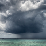 Clouds - Playa del Carmen, Mexico - August 15, 2014